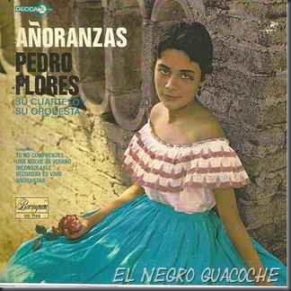 Pedro Flores Y Su Cuarteto - Añoranzas
