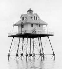 El Faro de Rebecca Shoal, en el estrecho de la Florida