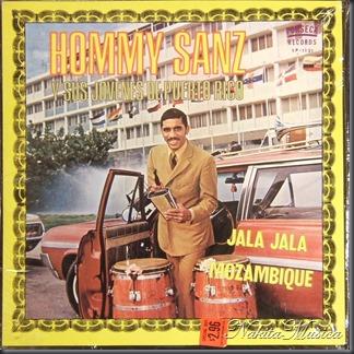 hommy sanz's y sus jovenes de puerto rico - jala jala mozambique - f