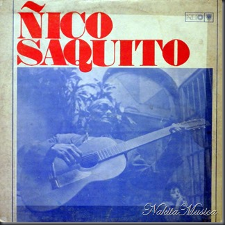 Ñico Saquito, front