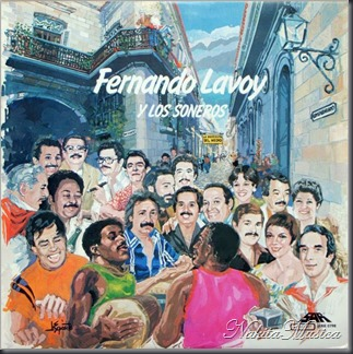 Caratula de Fernando Lavoy y Los Soneros