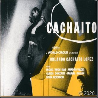 Cachaito -slipcase cover
